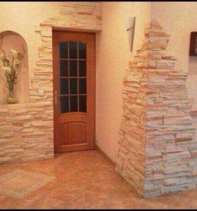 Ремонт комнаты,кухни,ванной.