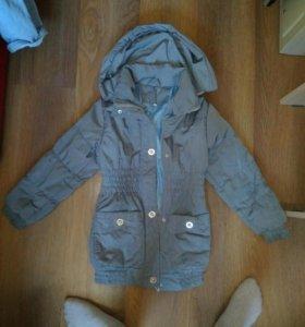 Куртка на худенькую девочку