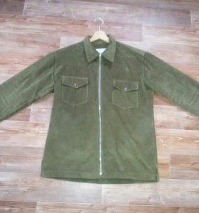 Куртка вельветовая XL