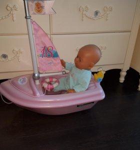 Кораблик Baby born
