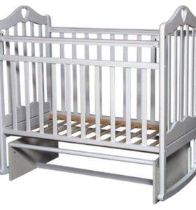 Детская кроватка Антел Каролина 3 поперечный мая