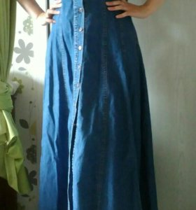Джинсовое платье/сарафан
