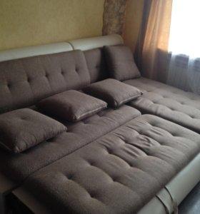Модульный угловой диван КОРМАК.
