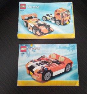 Лего машина creator