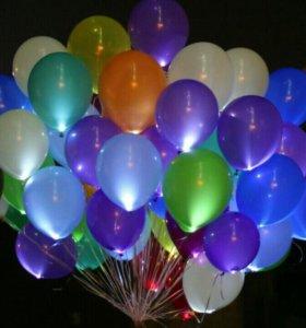 Светящиеся шары 12 дюйма. Доставка бесплатная 🎈