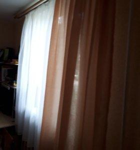 Пошив несложных штор.