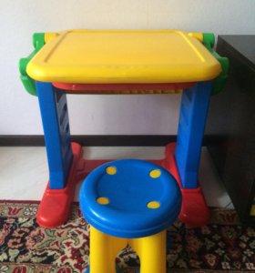 Детский мольберт+стол+стул