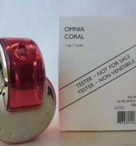 🌹Тестер женского парфюма BVLGARI OMNIA CORAL