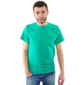 Футболка мужская (зеленая)