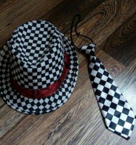 Шляпа+галстук