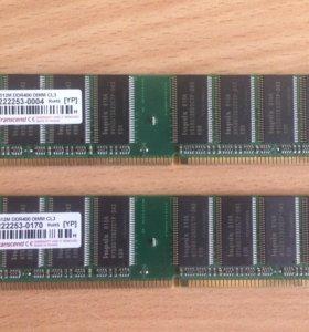 DDR1 512MB 2X