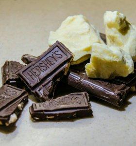 Масло какао нерафинированное