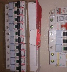 Автоматические выключатели Legrand 2A, 6A, и т.д.
