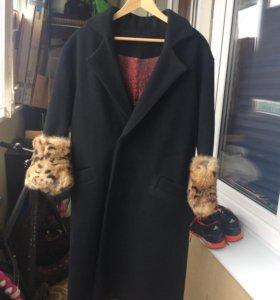 Пальто oversized осень/зима