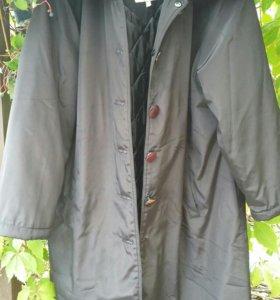 Куртка.Пальто~ 150г.на 52-54 (2-3XXL) беременной.