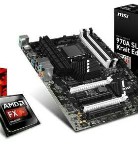 AMD FX 8320, MSI 970 krait edition, kingston 16GB
