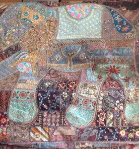 Покрывало-ковёр из Индии
