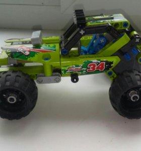 Лего машинка из серии ( лего техник )