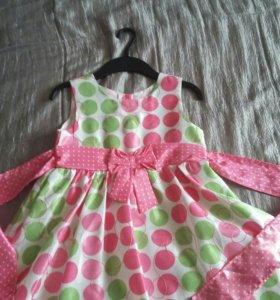 Платье для девочки от 4до7лет.