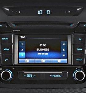 Штатная аудиосистема для Hyundai Creta.