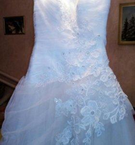 Свадебное платье. Р 44