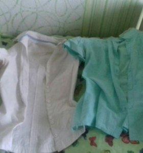 Блузки и рубашки к школе
