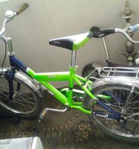 Подростковый велосипед от 7 до 14 лет