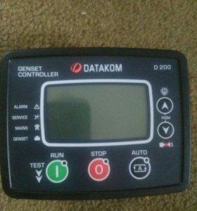 Контроллер для ДГУ D200