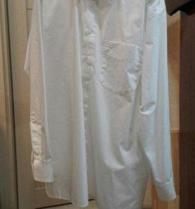 Мужской пиджак и рубашка 56 р-р