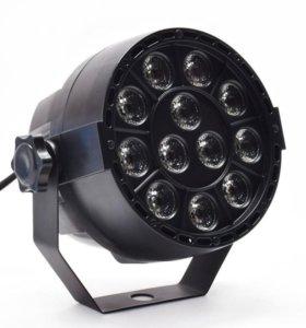 Micro прожектор PAR LED 312 RGBW