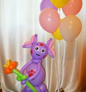 Фигуры из воздушных шаров, гелиевые воздушные шары