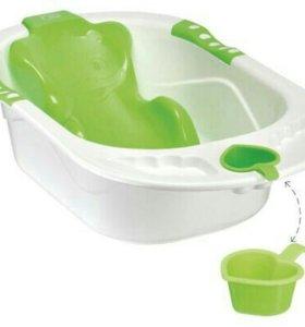 Ванна с горкой heppi babi