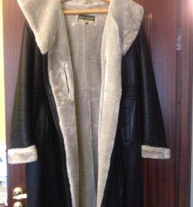 Зимнее пальто на 54-56 размер