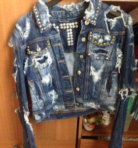 Джинсовая куртка Dsquared