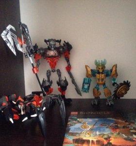 Lego bionicle оригинальные 3 робота