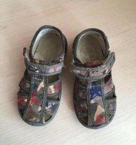 Туфли текстильные 25 р