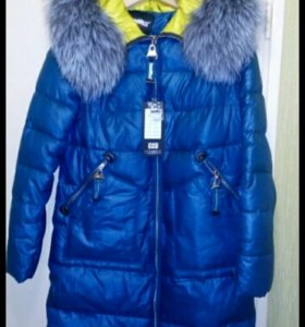 Новая зимняя куртка р.44