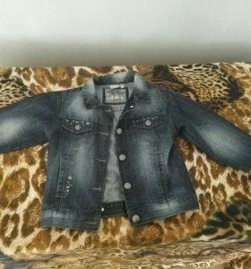 Джинсовая куртка для девочки (джинсовка)