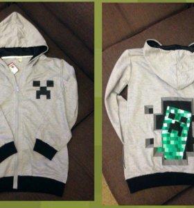 Новая толстовка Майнкрафт (Minecraft)