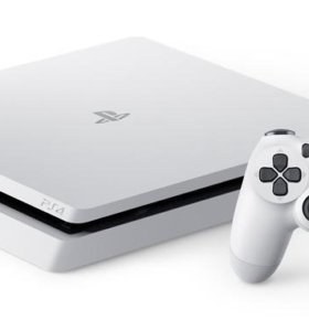 Sony playstation 4 slim white 500 гб