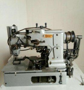 Петельная швейная машинка.