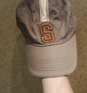 Бейсболка коричневая