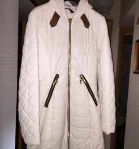 Пальто кожаное 44