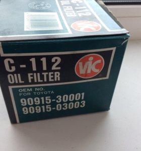 Фильтр масляный 🇯🇵 Vic c-112 Toyota дизель