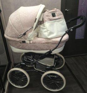 Bebecar коляска для новорождённого