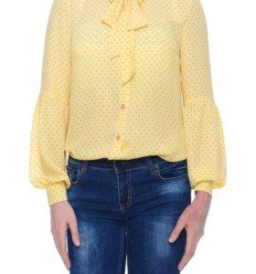 Блуза , шифон размер ,s 🇪🇺