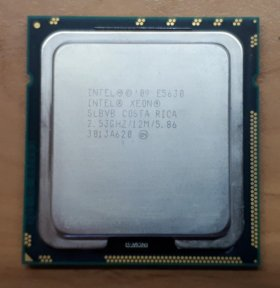 Intel Xeon e5630