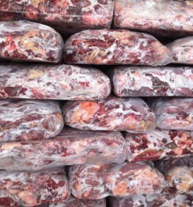 Мясо, субпродукты , рубец для собак в БЛОКАХ