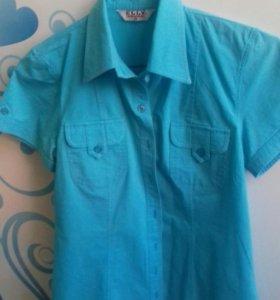 Рубашка с коротким рукавом 42-44