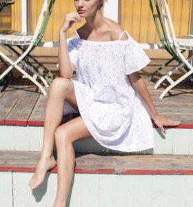 Лёгкое, летнее, белоснежное платье